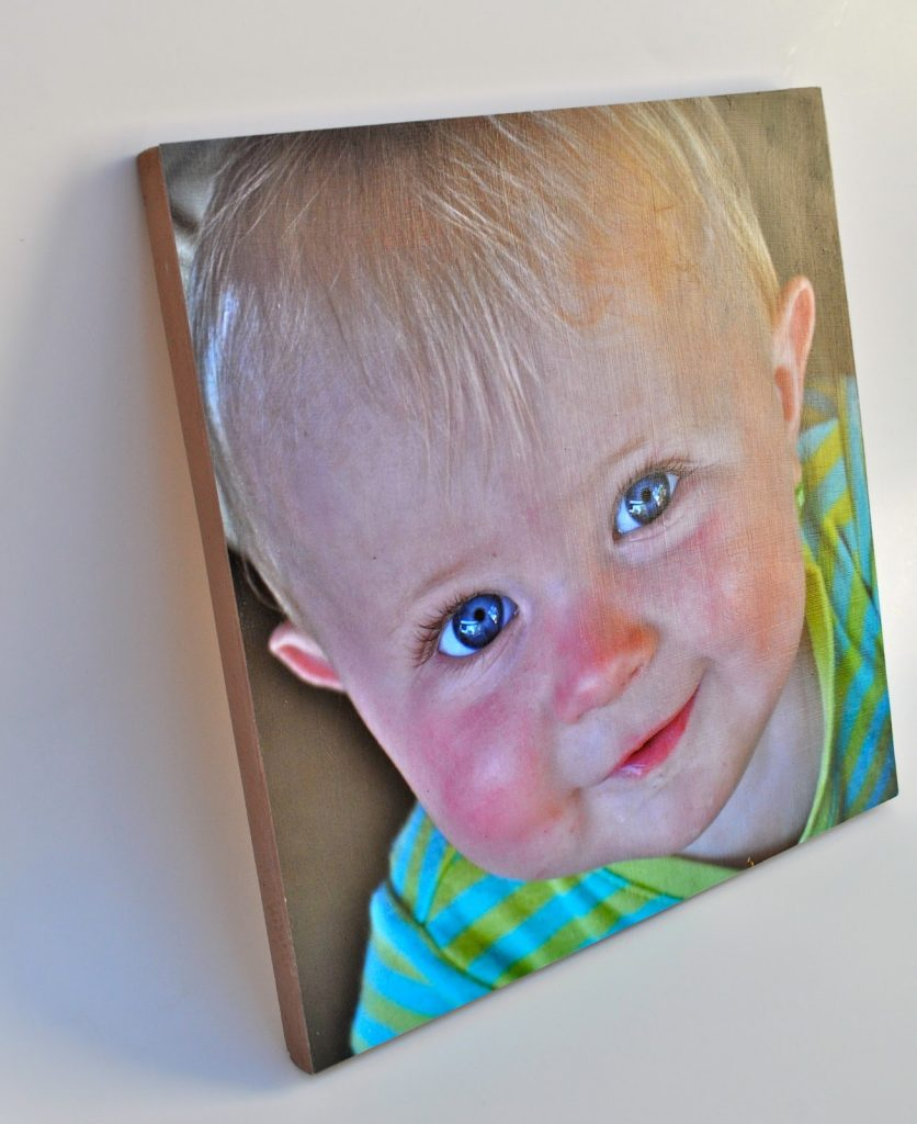 Easy DIY wood mounted photograph