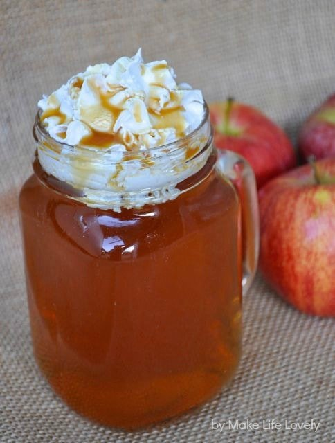 Caramel apple spice Starbucks recipe