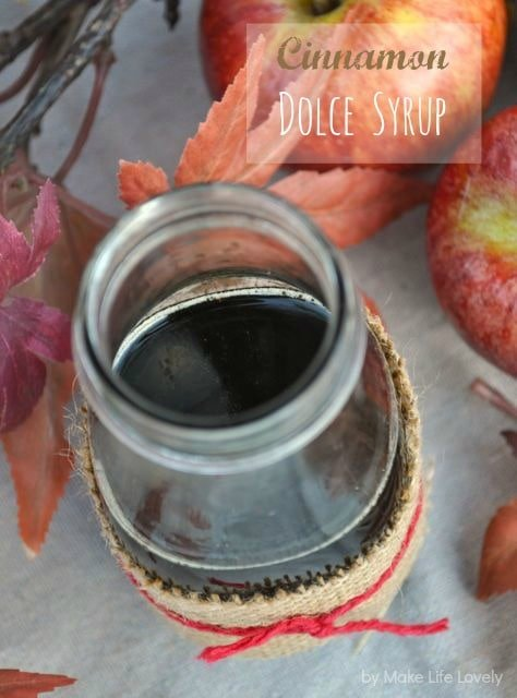 Starbucks cinnamon dolce syrup recipe for caramel apple spice