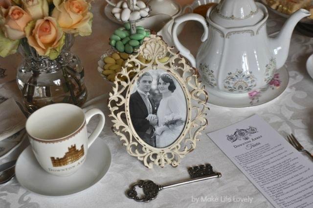 Downton Abbey Tea Party Free Printable Downton Abbey