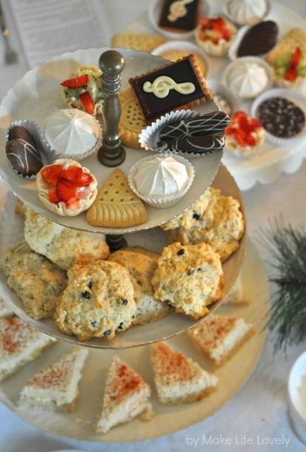 The Food For This Tea Party Was So Easy I Wanted To Be More Substantial Than Just Sweets Tried Create An English Full Or High