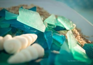 Edible sea glass recipe for an ocean or under the sea birthday party