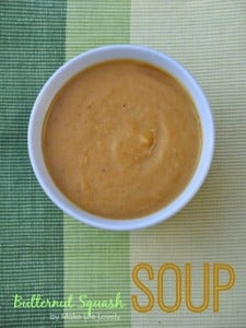 Amazing Orange Butternut Squash Soup