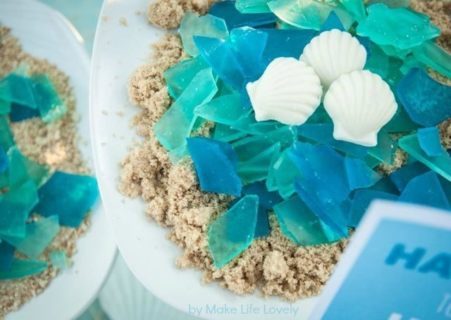 how to make glass candy - How To Make Sea Glass