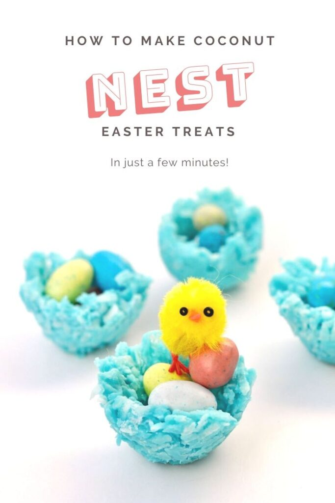 How to make coconut nest Easter treats in just a few minutes