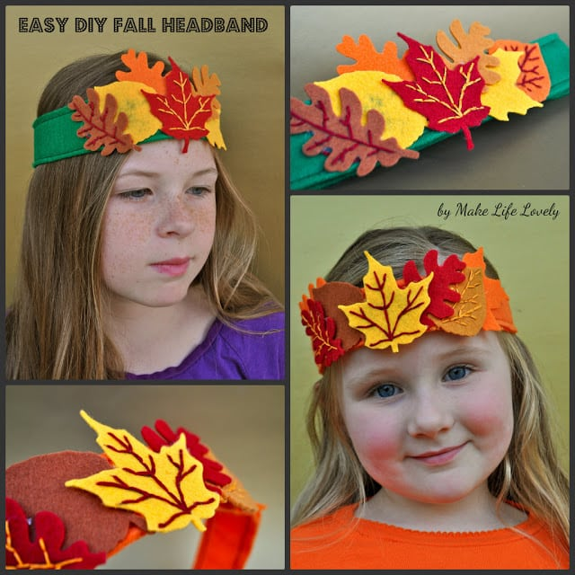Easy DIY Fall Headband - Make Life Lovely 8f6a2c16d81