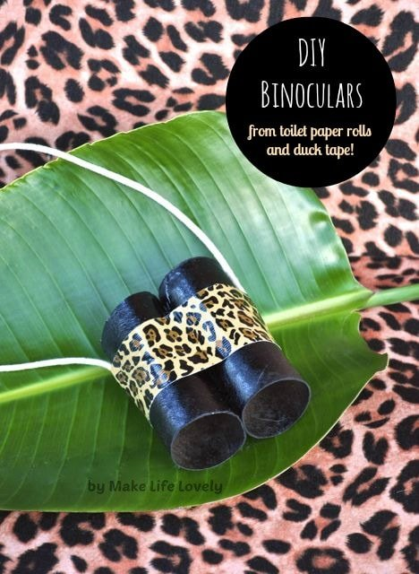 Diy Binoculars For Kids Make Life Lovely