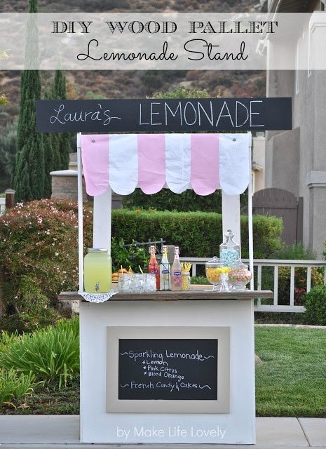 Diy Lemonade Stand From Wood Pallets World Market S