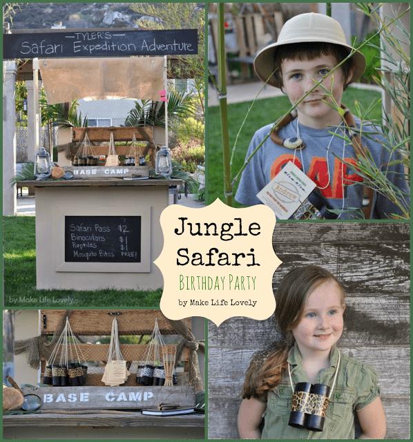 Jungle Safari Birthday Party - Make Life Lovely