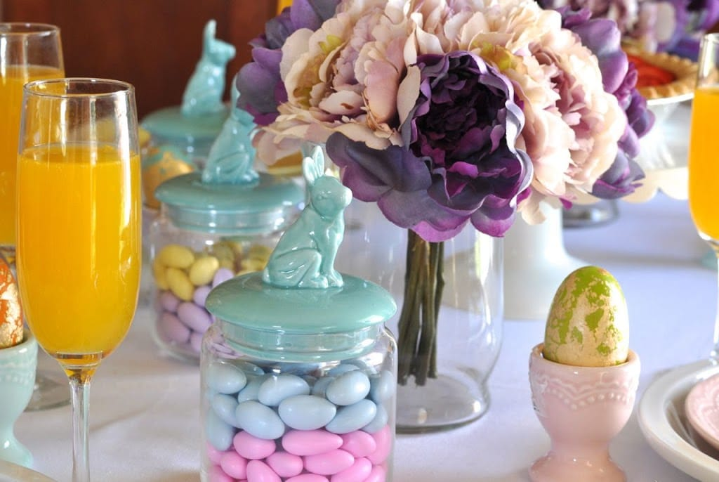 How to decorate your Easter brunch table