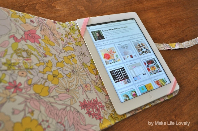Как сделать чехол книжку на планшет