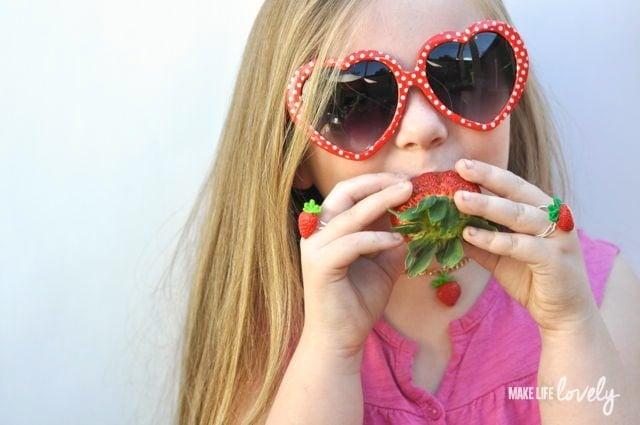 DIY Strawberry Jewelry - Make Life Lovely