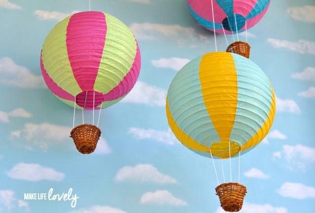 Paper Lantern Hot Air Balloons Make Life Lovely
