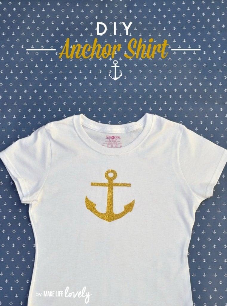 DIY Anchor Shirt