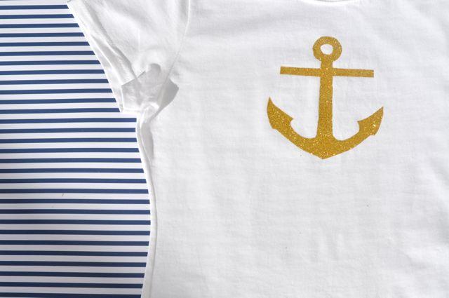 DIY Anchor T-Shirt