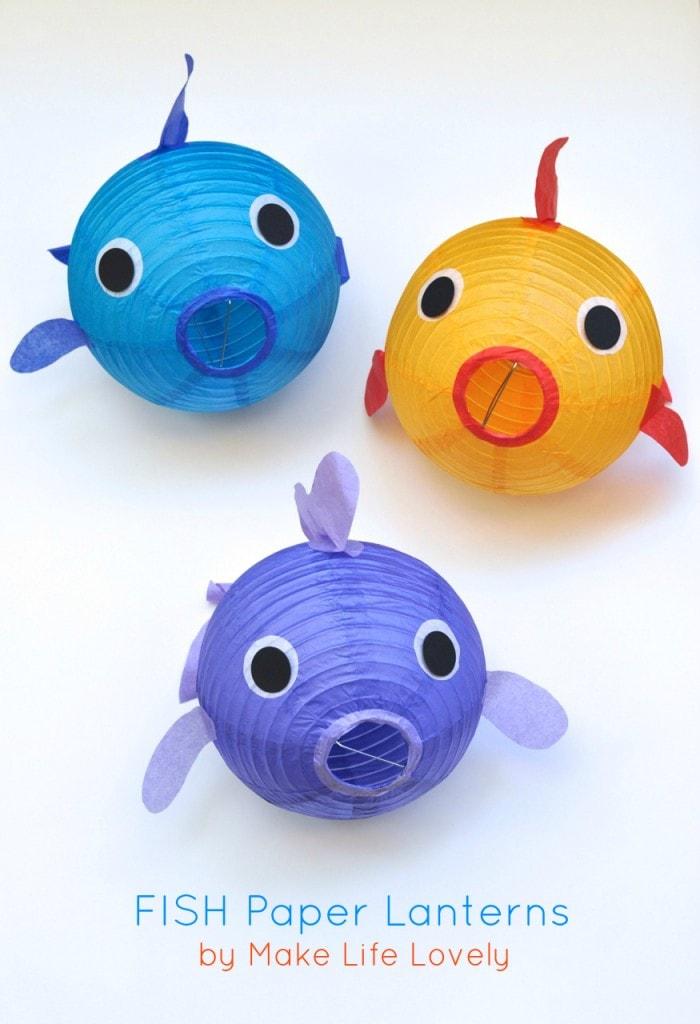 Paper Lantern Fish Make Life Lovely