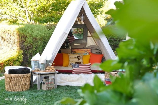Glamping Ideas and Tips | by Make Life Lovely