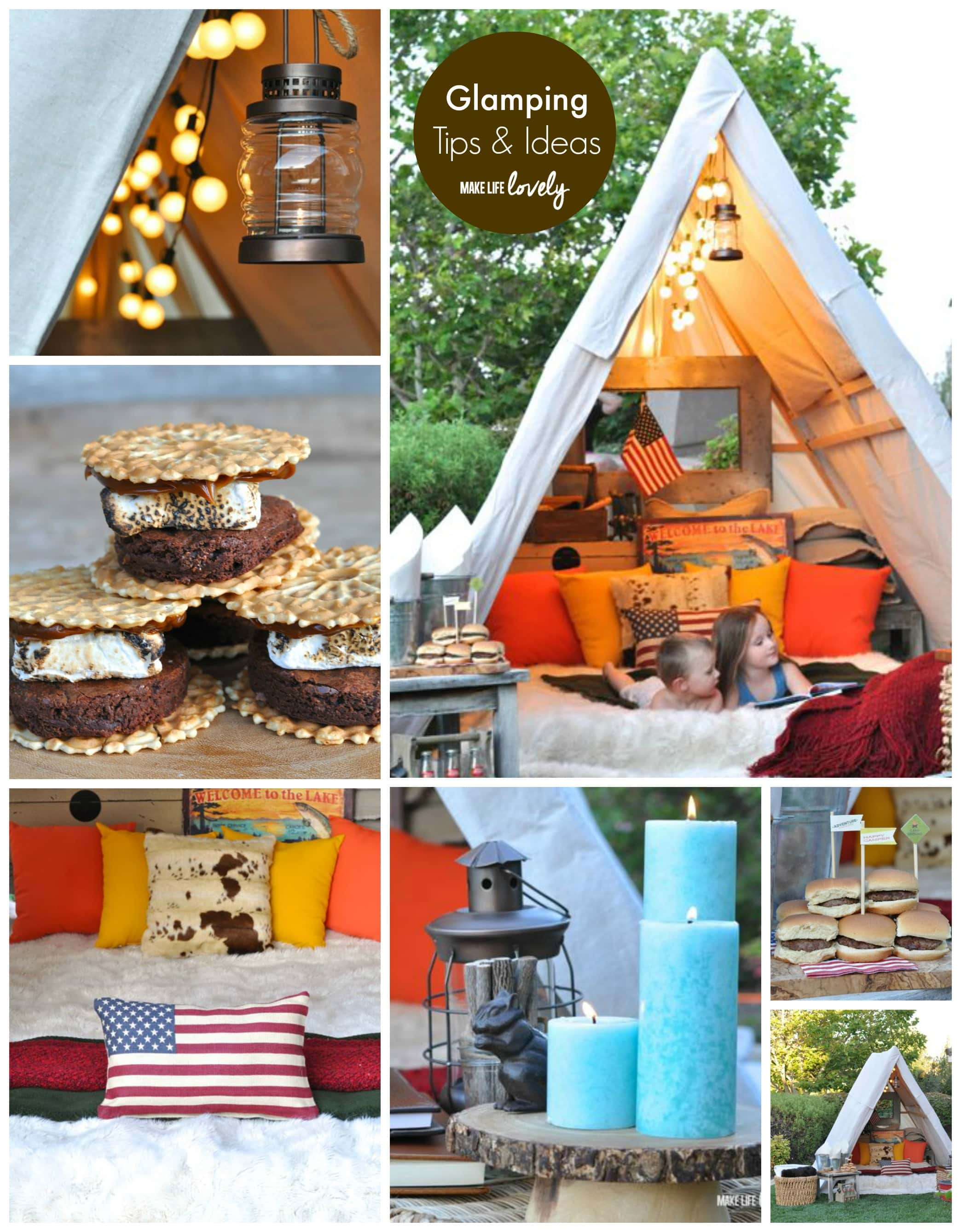Pinterest Camping Tent Decorating