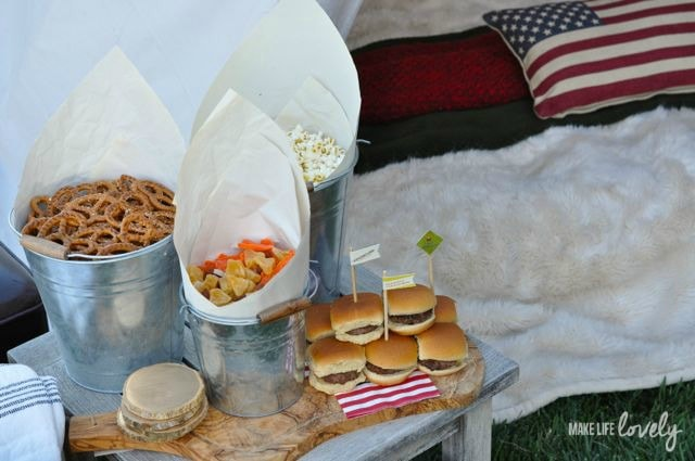 Glamping and Camping Food Ideas