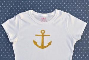 How to make an anchor shirt