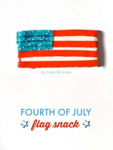 Patriotic Fourth of July Snack