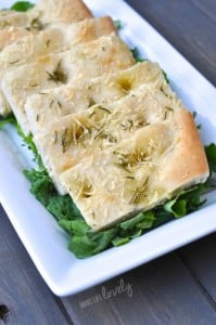 Rosemary Parmesan Focaccia Bread Recipe