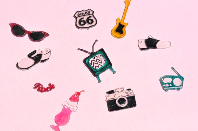 Sizzix The 50's collection by Jen Long