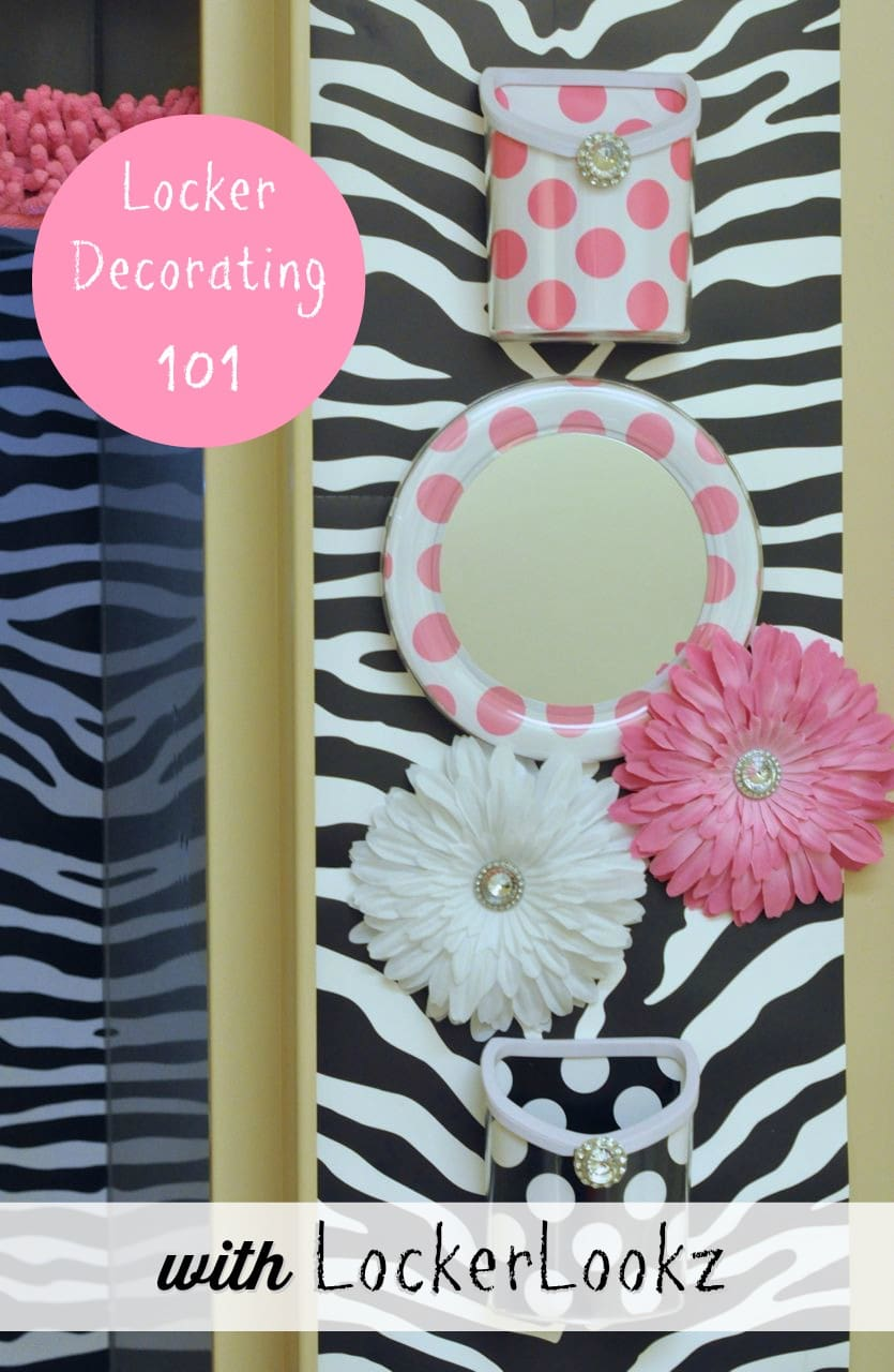 Locker decorating 101 a giveaway make life lovely for Locker decorations you can make at home