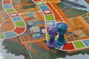 EQtainment's Q's Race to the Top Board Game