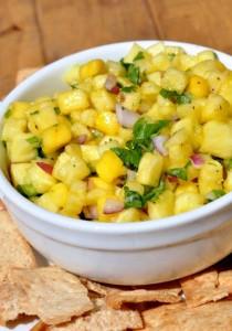 Spicy Pineapple Mango Salsa Recipe