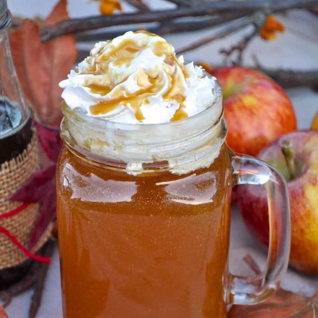 Starbucks Caramel Apple Spice Copycat Recipe | by Make Life Lovely