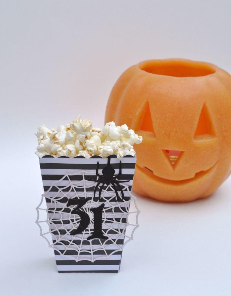 DIY Halloween Popcorn Box
