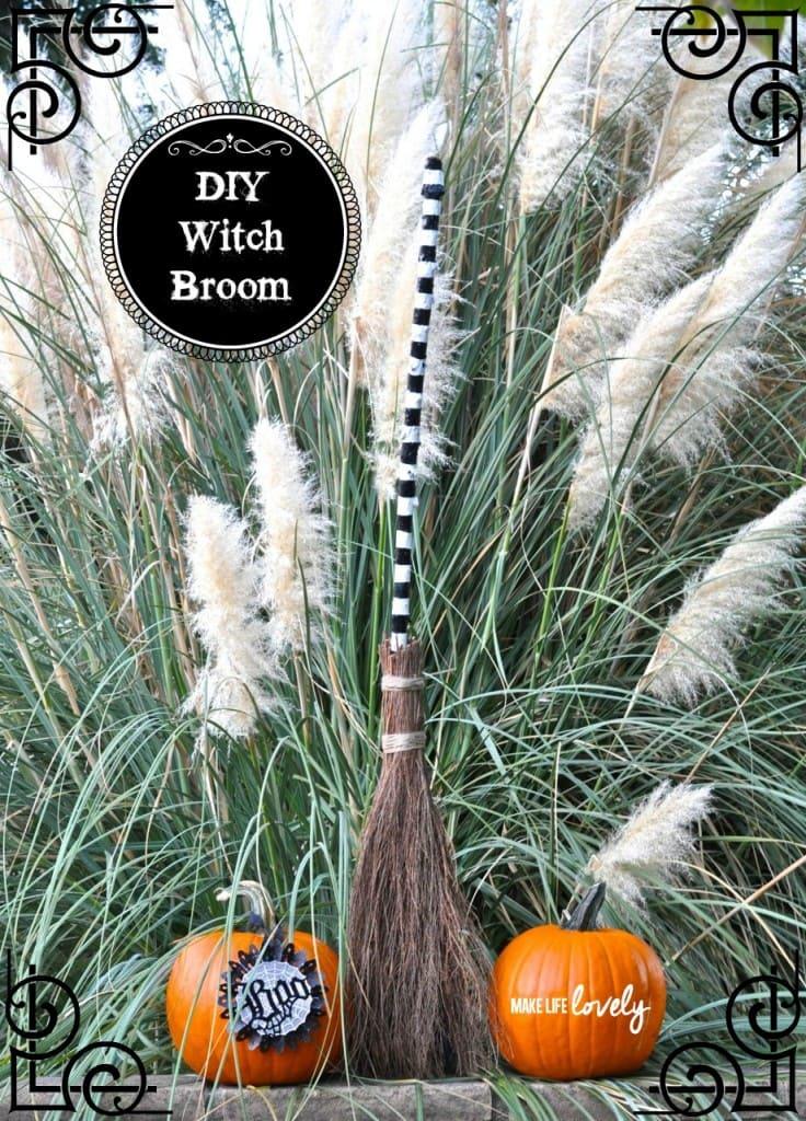 DIY Witch Broom Tutorial