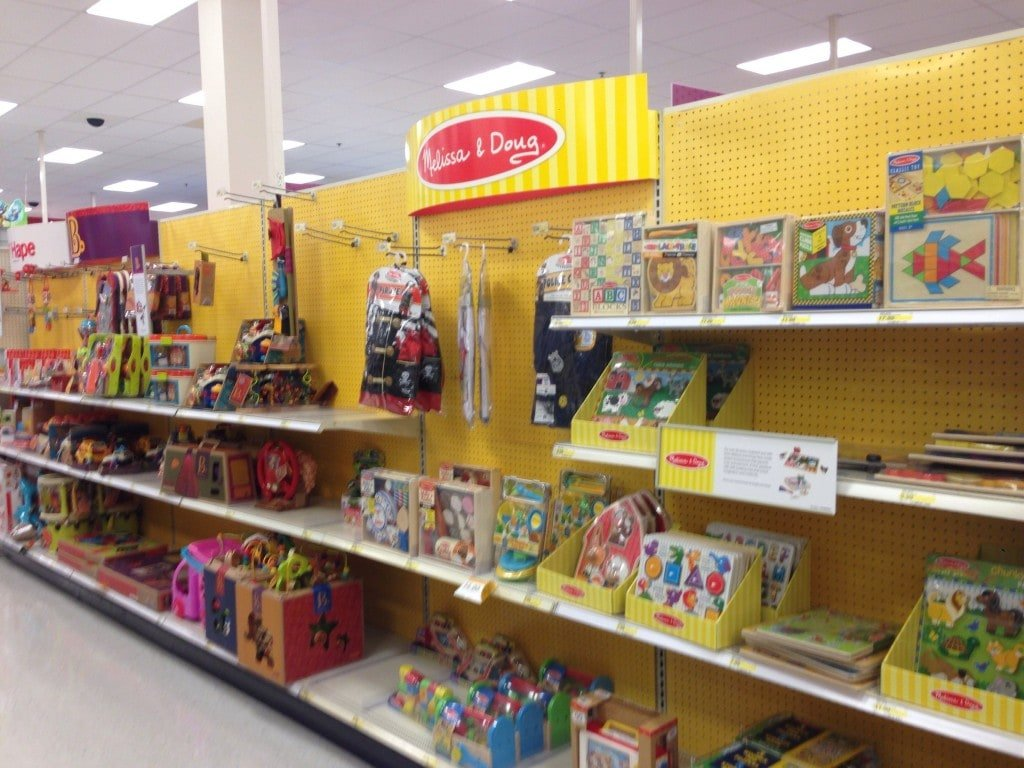 Melissa and Doug at Target