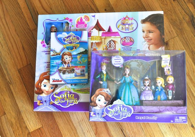 Sofia the First toys from Walmart