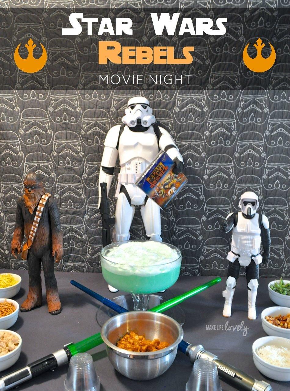 star wars rebels movie night make life lovely. Black Bedroom Furniture Sets. Home Design Ideas