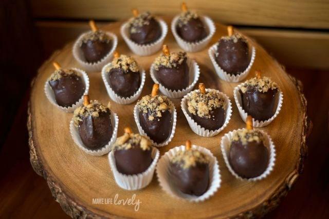 Acorn OREO Chocolate Balls Recipe