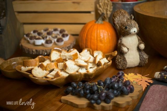 Fall Party Food Table