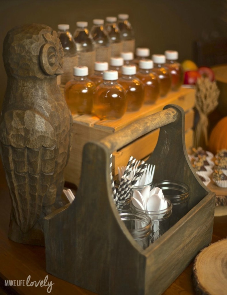 Fall Party Food and Drink Table Ideas