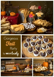 A Fall Party + OREO Cookie Balls Recipe