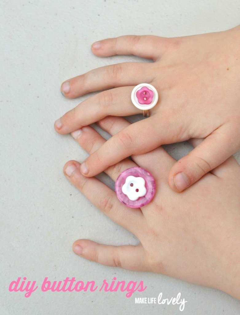 Button Rings Tutorial