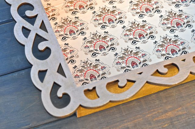 Elegant Wood Tray DIY