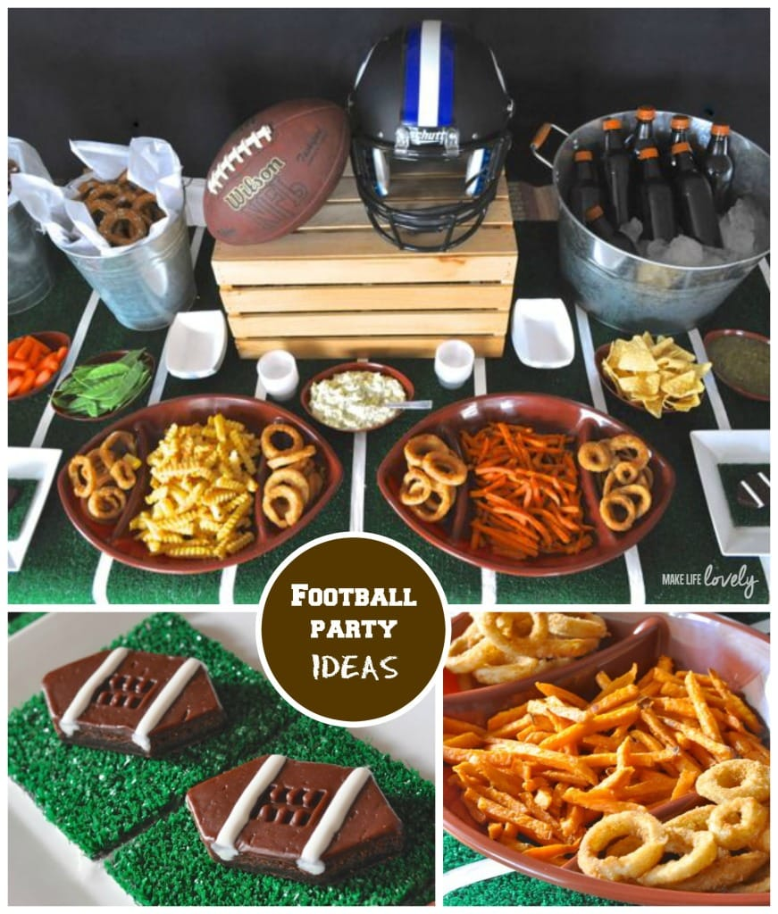 Football Super Bowl Party Ideas