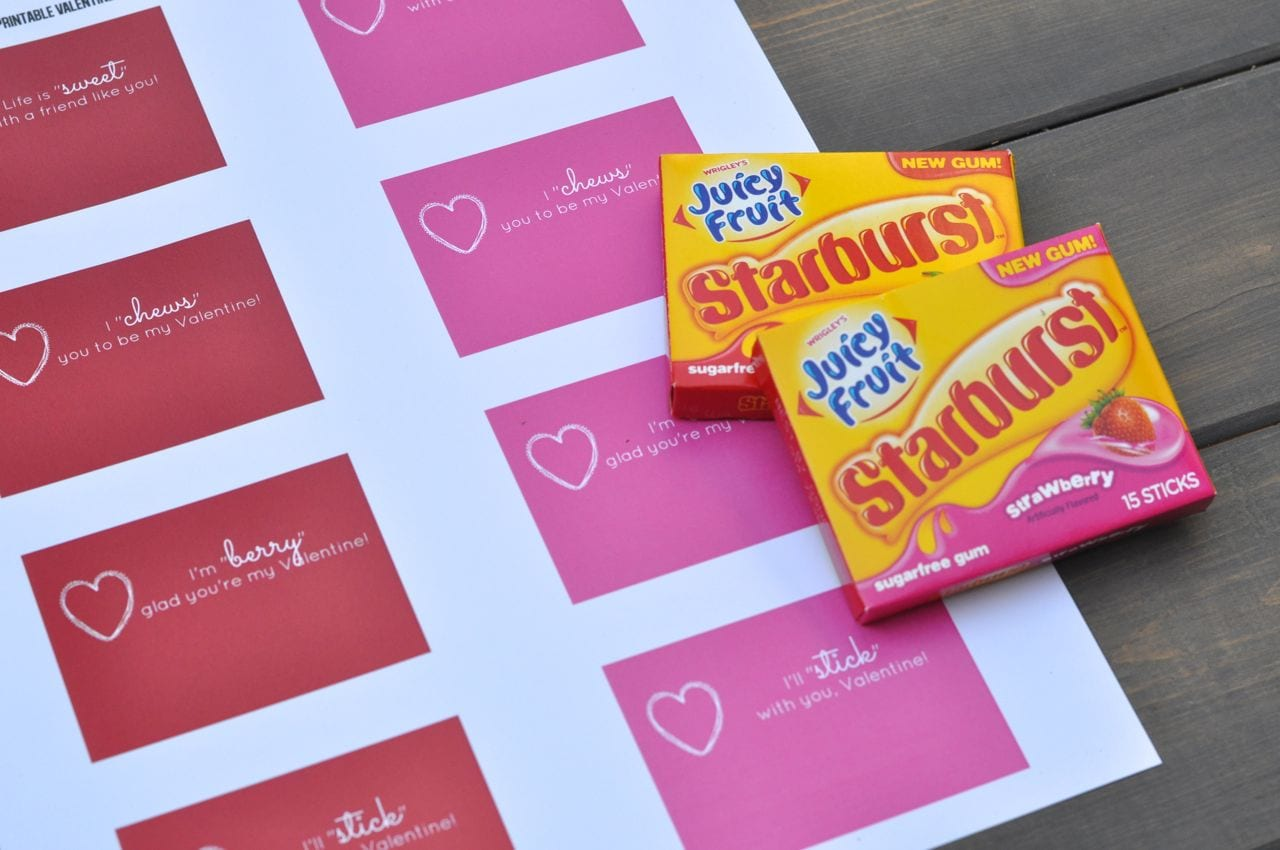 photograph relating to Extra Gum Valentine Printable named Free of charge Printable Valentines Gum Wrappers - Create Lifestyle Beautiful