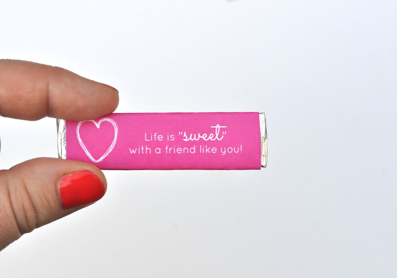graphic about Extra Gum Valentine Printable known as Cost-free Printable Valentines Gum Wrappers - Generate Daily life Magnificent