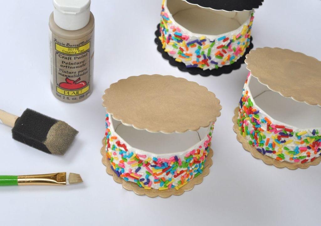 DIY ICe Cream Sandwich Box