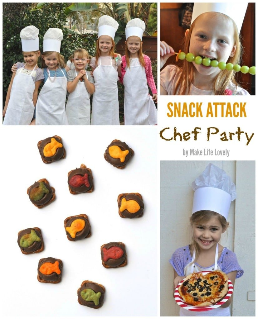 Cooking Chef Party Ideas