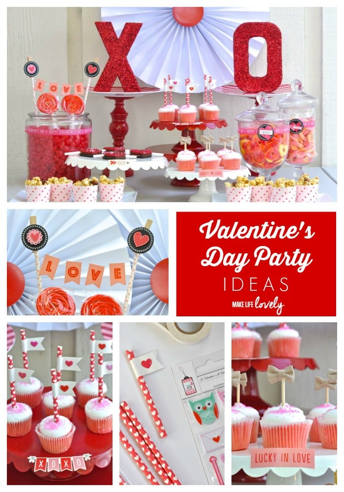 Valentines Day Party With Target One Spot Items Make