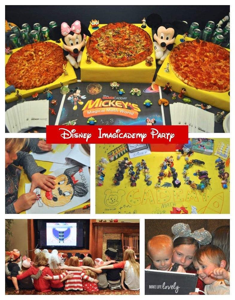 Disney Imagicademy Party Ideas