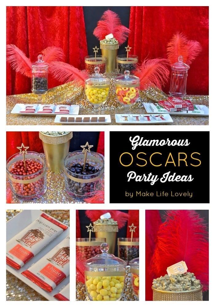 Glamorous Oscars Party Ideas